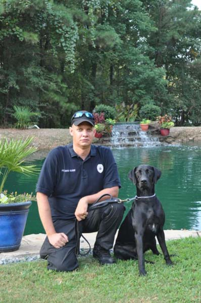 Officer Slinger & K9 Cash Gleason, TN Police Department
