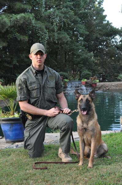 Sgt. Lowery & K9 Tyron Ark. Dept. of Corrections